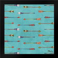 Tribal Trek Arrows II: Framed Art Print by Brent, Paul