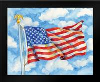 Stars and Stripes Forever: Framed Art Print by Brent, Paul