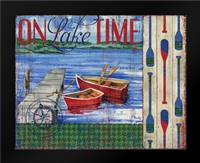 Lake Time I: Framed Art Print by Brent, Paul