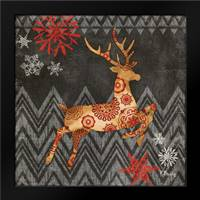 Reindeer Dance I: Framed Art Print by Brent, Paul