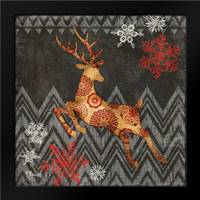 Reindeer Dance II: Framed Art Print by Brent, Paul