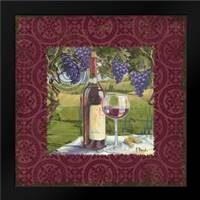 At the Vineyard Sq I: Framed Art Print by Brent, Paul