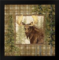 Lodge Portrait IV: Framed Art Print by Brent, Paul