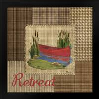Leisure Lake I: Framed Art Print by Brent, Paul