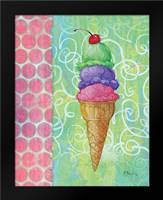 Frozen Delight II: Framed Art Print by Brent, Paul
