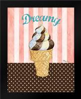 Ice Cream Shoppe II: Framed Art Print by Brent, Paul