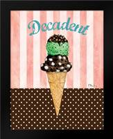 Ice Cream Shoppe III: Framed Art Print by Brent, Paul
