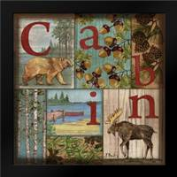 C is for Cabin: Framed Art Print by Brent, Paul