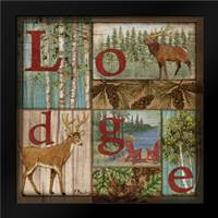 L is for Lodge: Framed Art Print by Brent, Paul