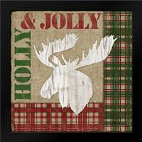 Holly Jolly Lodge IV: Framed Art Print by Brent, Paul