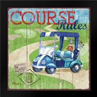 Golf Time I: Framed Art Print by Brent, Paul