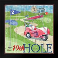 Golf Time II: Framed Art Print by Brent, Paul