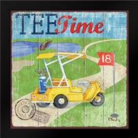 Golf Time III: Framed Art Print by Brent, Paul