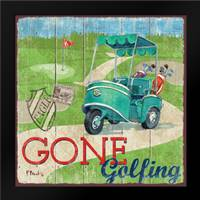 Golf Time IV: Framed Art Print by Brent, Paul