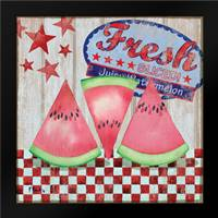 Juicy Watermelon I: Framed Art Print by Brent, Paul