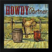 Howdy Partner I: Framed Art Print by Brent, Paul