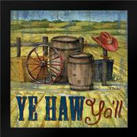 Howdy Partner II: Framed Art Print by Brent, Paul