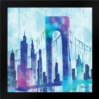 Manhattan II: Framed Art Print by Brent, Paul