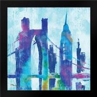 Manhattan III: Framed Art Print by Brent, Paul