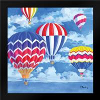 Balloons I: Framed Art Print by Brent, Paul