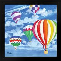 Balloons II: Framed Art Print by Brent, Paul