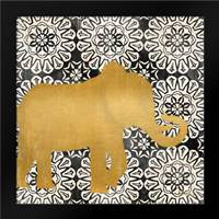 Boho Elephant I: Framed Art Print by Brent, Paul