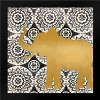 Boho Elephant II: Framed Art Print by Brent, Paul