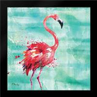 Arianna Flamingo I: Framed Art Print by Brent, Paul