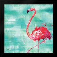 Arianna Flamingo II: Framed Art Print by Brent, Paul