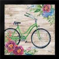 Petal Pusher I: Framed Art Print by Brent, Paul