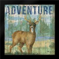 Adventure Lodge I: Framed Art Print by Brent, Paul