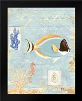 Aquatic: Framed Art Print by Brent, Paul