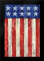 All American Flag II: Framed Art Print by Brent, Paul