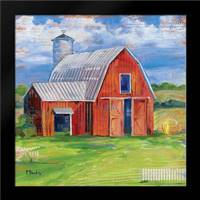 Homeland Barn I: Framed Art Print by Brent, Paul