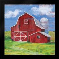 Homeland Barn II: Framed Art Print by Brent, Paul