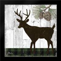 Wildwood Lodge II: Framed Art Print by Brent, Paul