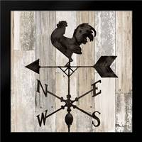 Wrought Iron Vanes II: Framed Art Print by Brent, Paul
