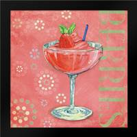 Calypso Cocktails I: Framed Art Print by Brent, Paul