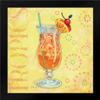 Calypso Cocktails IV: Framed Art Print by Brent, Paul
