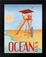 Beach Watch II: Framed Art Print by Brent, Paul