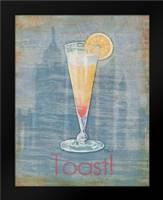 Big City Cocktail I: Framed Art Print by Brent, Paul