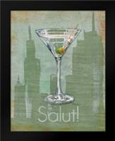 Big City Cocktail III: Framed Art Print by Brent, Paul