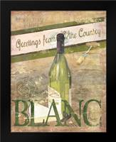 Chateau Chardonnay: Framed Art Print by Brent, Paul