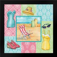 Beach Wear II: Framed Art Print by Brent, Paul