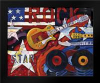 Rockstar: Framed Art Print by Brent, Paul