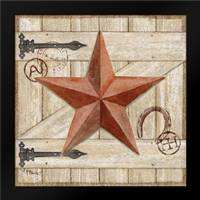 Barn Star I: Framed Art Print by Brent, Paul