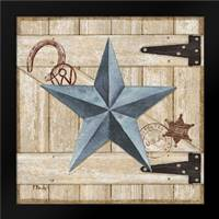 Barn Star II: Framed Art Print by Brent, Paul