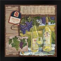 Wine Country Collage I: Framed Art Print by Brent, Paul