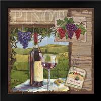 Wine Country Collage II: Framed Art Print by Brent, Paul