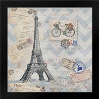 Bon Voyage I: Framed Art Print by Brent, Paul